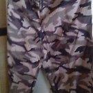 "PANTS Lounge Pants Men's Slacks Unisex Cammo Gray Cammoflage 30"" x 29"""