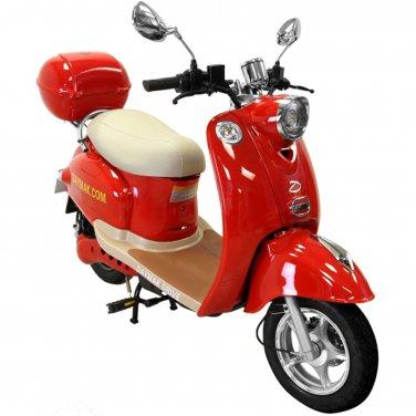 Daymak Gatto 500W 48V Electric Bicycle Electric Bike E-Bike eBike Moped Red Free Shipping