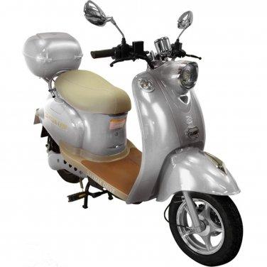 Daymak Gatto 500W 48V Electric Bicycle Electric Bike E-Bike eBike Moped Silver Free Shipping