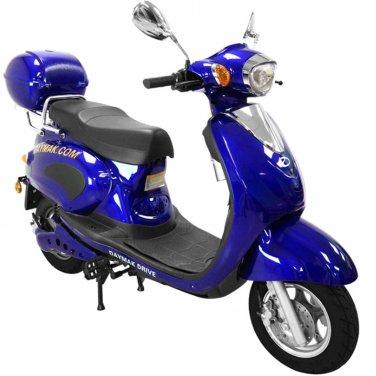 Daymak Rome 500W 72V Electric Bicycle Electric Bike E-Bike eBike Moped Blue Free Shipping