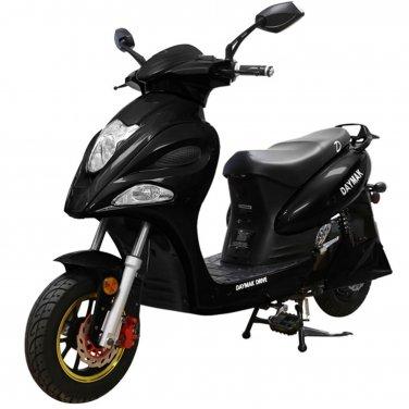 Daymak Indianapolis 500W 72V Electric Bicycle Electric Bike E-Bike eBike Moped Black Free Shipping