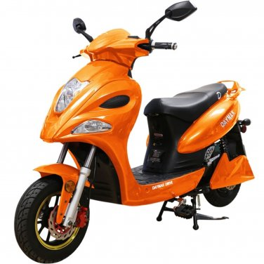 Daymak Indianapolis 500W 72V Electric Bicycle Electric Bike E-Bike eBike Moped Orange Free Shipping