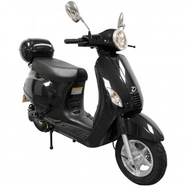 Daymak Amalfi 500W, 84V Electric Bicycle Electric Bike E-Bike eBike Moped Black Free Shipping
