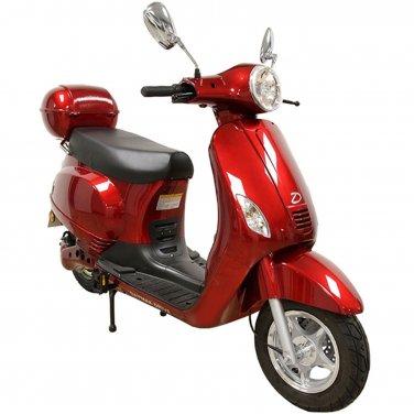 Daymak Amalfi 500W, 84V Electric Bicycle Electric Bike E-Bike eBike Moped Red Free Shipping