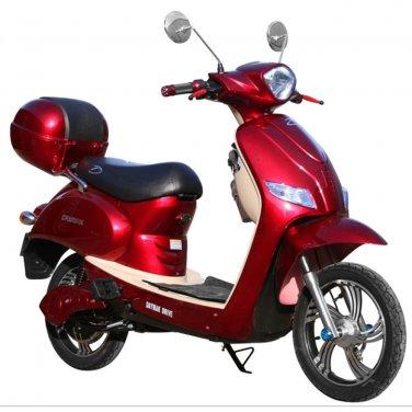 Daymak Jena 500W 48V Electric Bicycle Electric Bike E-Bike eBike Moped Red Free Shipping