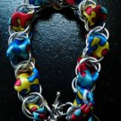 Autism Awareness Chainmaille Bracelet