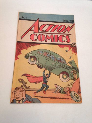 Action Comics #1 1938 REISSUE 1983 First Appearance of Superman DC Comics