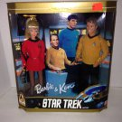 1996 Barbie & Ken Star Trek Gift Set Collectors Ed 30th Anniversary NIP Complete