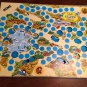 Vtg 1981 Milton Bradley Board THE SMURF GAME Complete 3 Dimensional