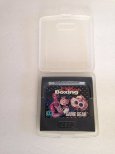 Sega Game Gear Evander Holyfield's Real Deal Boxing w/Clamshell Case