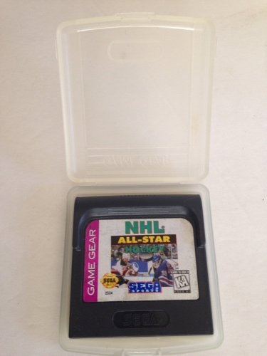 Sega Game Gear NHL All-Star Hockey w/Clamshell Case