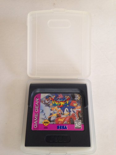 Sega Game Gear Sonic Drift 2 w/Clamshell Case