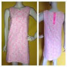 H&M Bubblegum Pink Ivory Illusion Lace Versatile Dress Shift Super Cute! XS