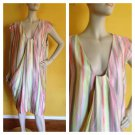 NWT Anne Klein Multi Color Striped Dress Womans Plus 20W Career Versatile