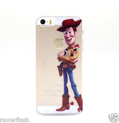 Case For Apple iPhone 6 case Transparent Hand simpsons toy story eating homer skin