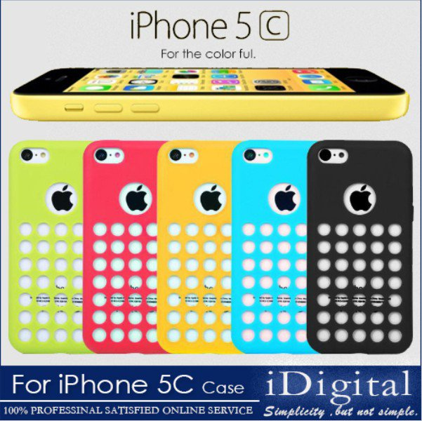 Soft Phone Cases For Apple iPhone 5C Silicone Stylish Phone Case Back Cover