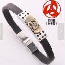 NEW Cosplay Naruto Kakashi Syaringan leather bracelet