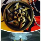 Anime naruto Rasengan Spiral Chakra Sphere Power Strike pocket watch necklace