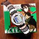 Attack on Titan watch anime Wrist Band jewelry bangle