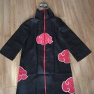 Naruto Akatsuki Uchiha Itachi Robe Cloak Anime Costume for Cosplay with headband