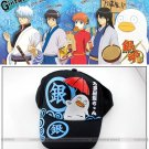 Baseball cap/hat with anime Gintama cute Elizabeth printings!balck color/cotton