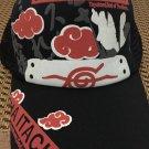 Anime Baseball cap/hat with Naruto character & Konoha/leaf mark printing size adjust
