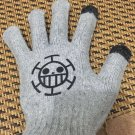 Anime One piece easy touch Gloves