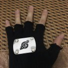 Anime Naruto half finger Gloves cosplay