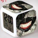 Japanese Anime Tokyo Ghoul Seven Color Change Glowing Digital Alarm Clock