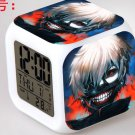 Japanese Anime Tokyo Ghoul Kaneki Seven Color Change Glowing Digital Alarm Clock