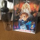 Anime Fate/stay night Water Bottle with a notebook