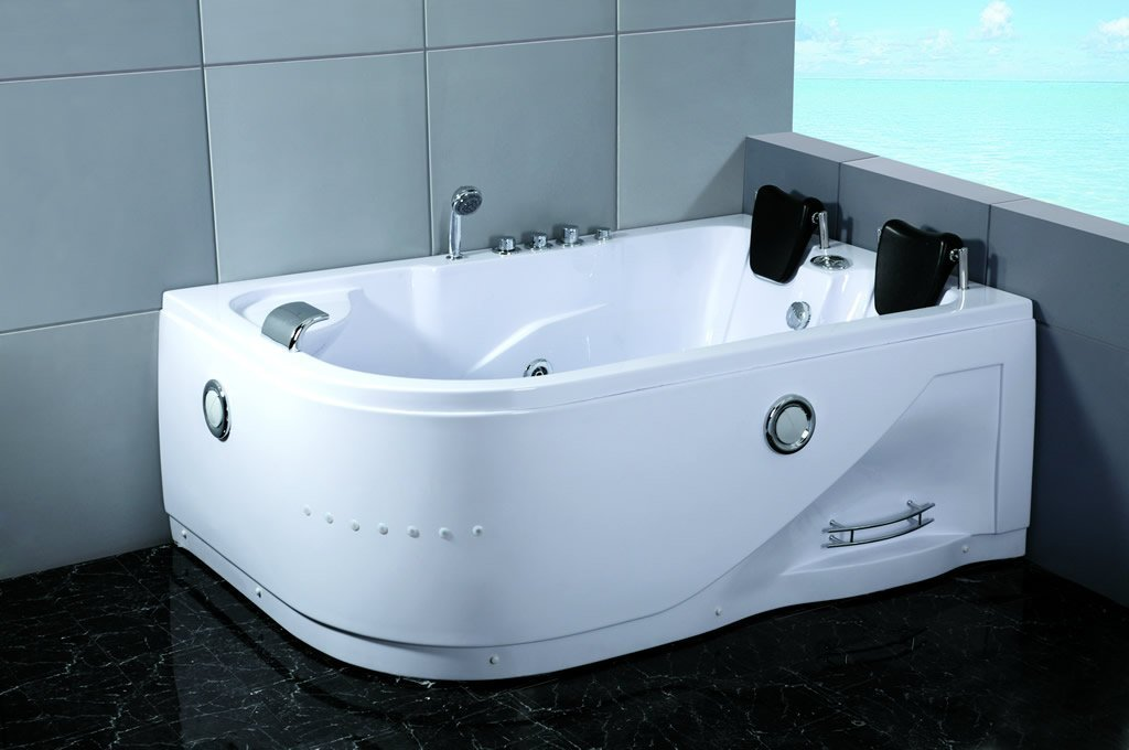 2 Person Indoor Whirlpool Hot Tub Massage Bathtub Hydrotherapy