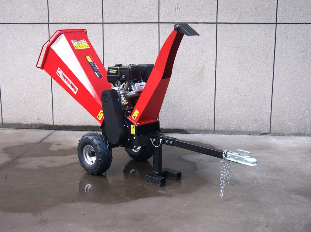 Powerful 15HP Gas Gasoline Powered Wood Chipper Shredder Mulcher