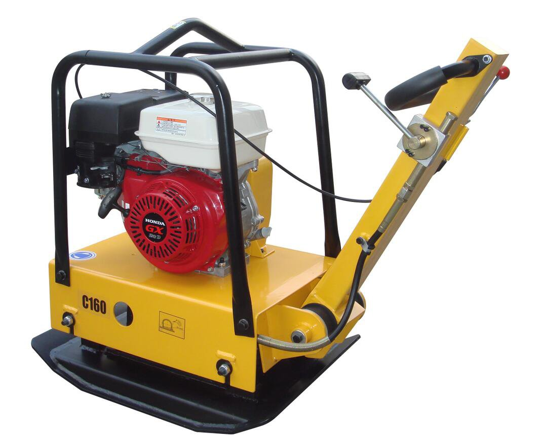 Large Plate Dirt Soil Compactor Wacker with Honda Motor with Forward/Reverse