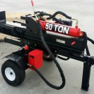 50 Ton Log Splitter Commercial Grade Hydraulic Gas Wood 15HP Engine