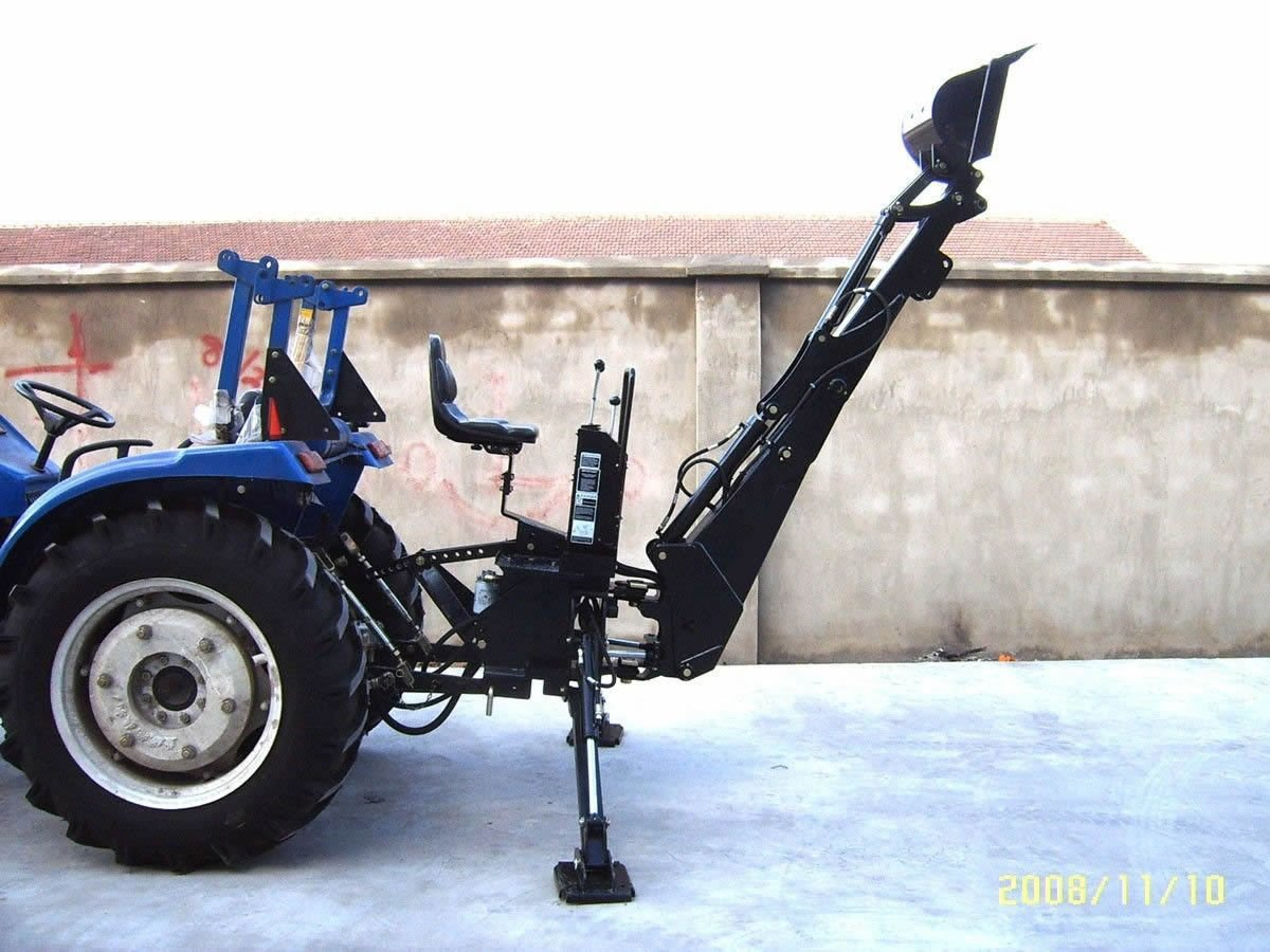 PTO Backhoe Farm Tractor Attachment BH6600 Category 1 Hitch