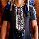 New Native American Choker Indian Breastplate Necklace Costume Chief Headdress