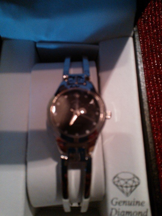 Sleek Beverly Hills Polo Club Diamond and Chrystal Wristwatch