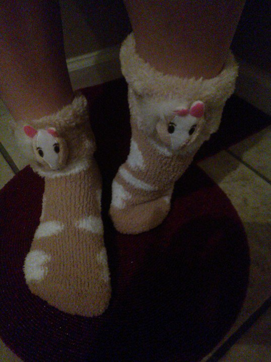Horse or Pony Plush Ankle Socks