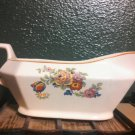 vintage beautiful floral country chic gravy bowl homer laughlin china