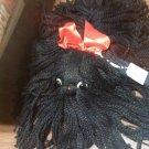 vtg yarn dog toy southwest novelty co. TX w orig price tag ml parker co. ia.