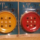 ohio art co vintage toys tic tac toe travel games lot of two new in packages