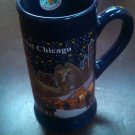Christkindlmarket Chicago 2013 Tall Blue Mug coffee cup Dated