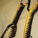 North Carolina Joe's Paracord Keychains your choice of color handmade gear