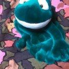 Russ Berrie & Co., Inc.  Fleegle the Frog bright green stuffed animal