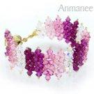 Handcrafted Swarovski Crystal Bracelet - JDee 010218