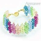 Handcrafted Swarovski Crystal Bracelet - JDee 010222