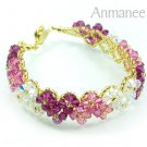 Handcrafted Swarovski Crystal Bracelet - Pikul V 010274