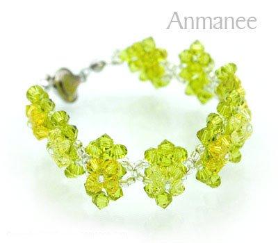 Swarovski Crystal Bracelet Thai Classic 2 010284