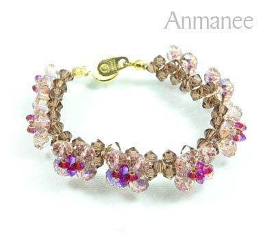 Handcrafted Swarovski Crystal Bracelet  - Pikul Specail 010271